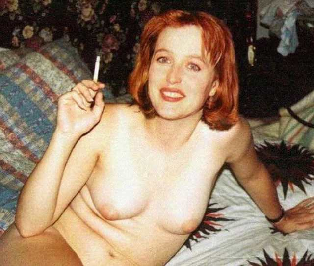 Gillian Anderson Nude Topless And Pussy Pics Exposed