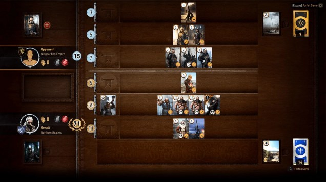 The Witcher III's Card Game Challenges the Notion of Mini-games - 2015-06-08 16:18:22