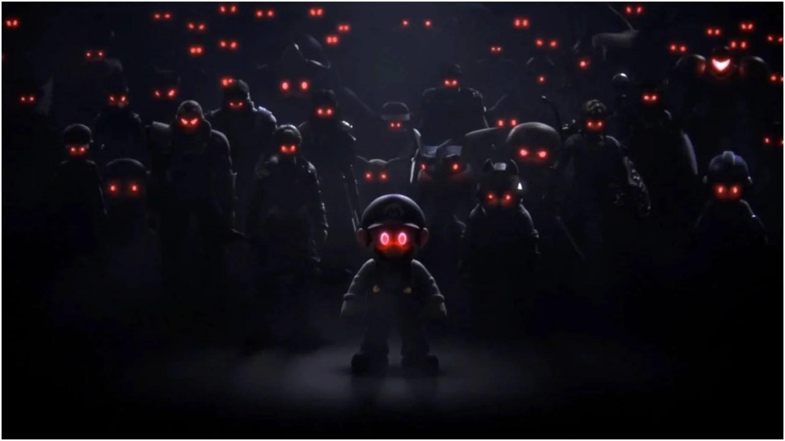 Evil Dark Spirit Girl Wallpaper Hd Smash Bros Ultimate Story Mode Revealed Alongside New