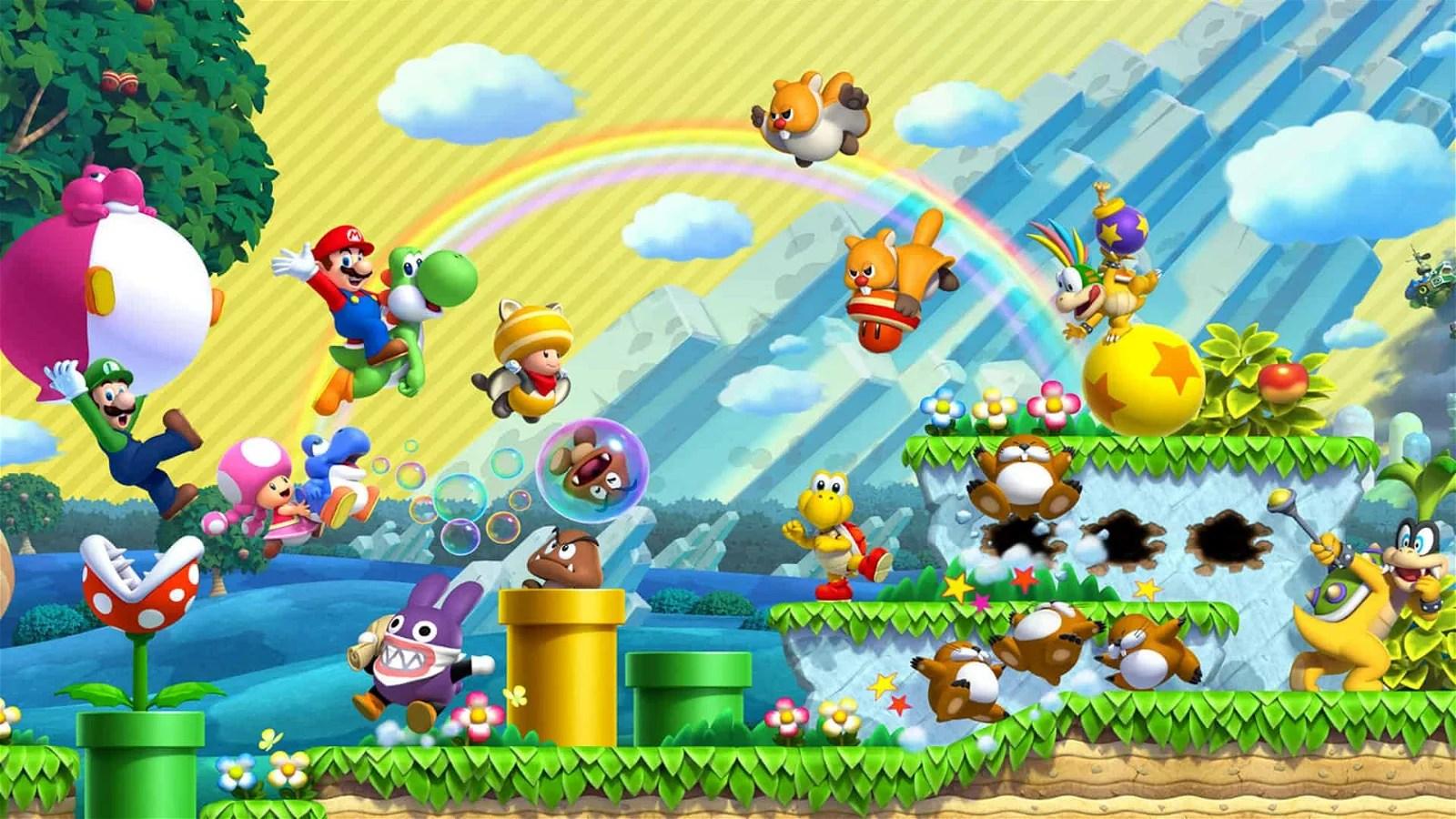 NEW Super Mario Bros. U Deluxe (Nintendo Switch) Review   CGMagazine