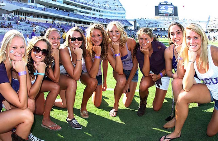 Ranking The Hottest Female Fan Bases In The Big 12