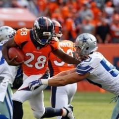 Cowboys Football Helmet Chair Wooden Glider How Bad Was D Vs Broncos Let Sean Lee Frozen In His Explain