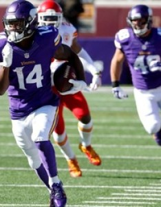 Vikings  first depth chart clarifies their wide receiver picture also apos rh chatsports