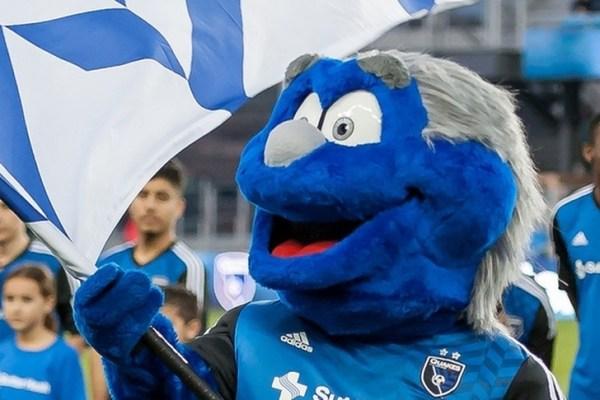 Earthquakes39 Mascot Q Wins MLS Mascot Mania Title