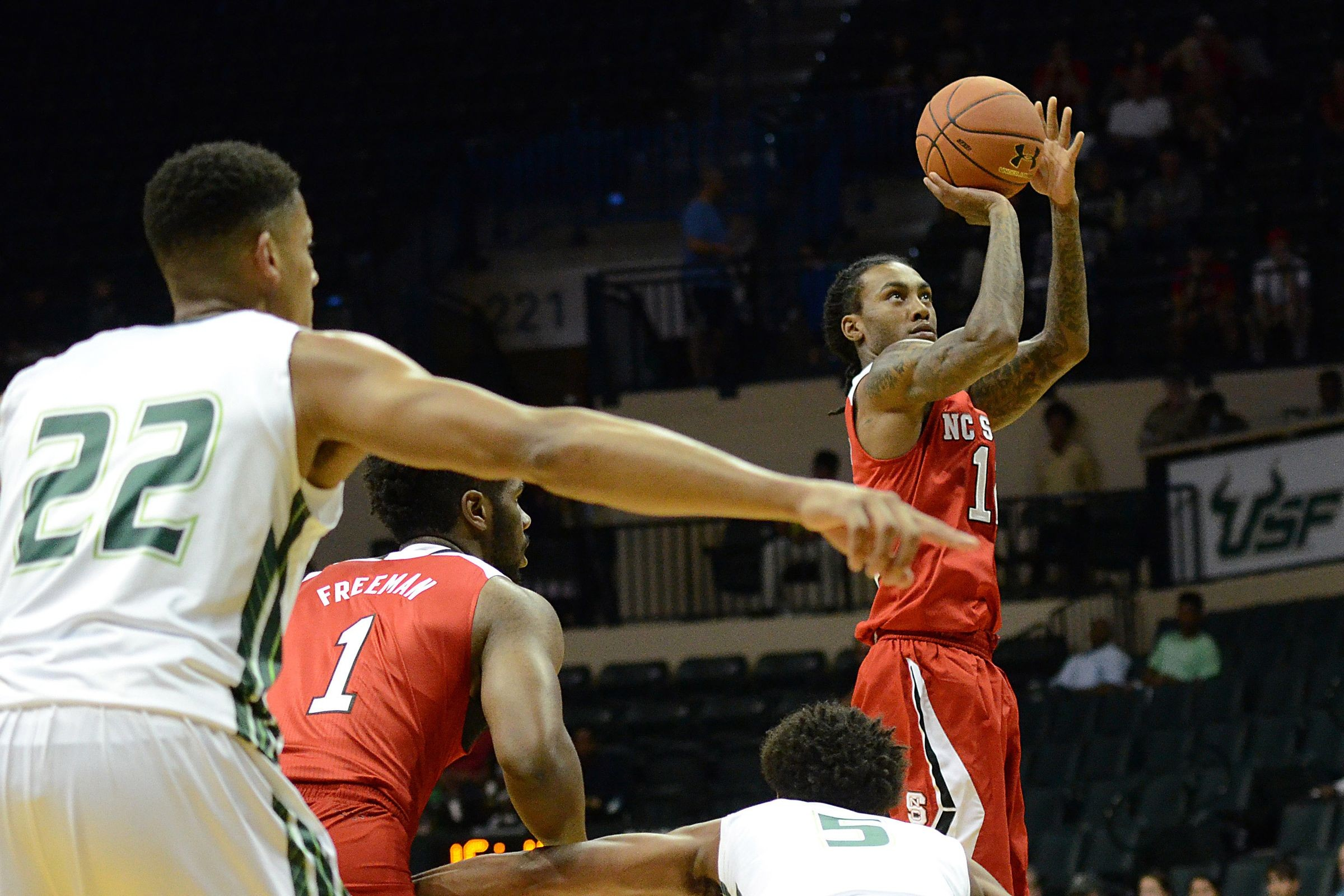 ACC Roundup Clutch Play By Cat Barber Saves Wolfpack