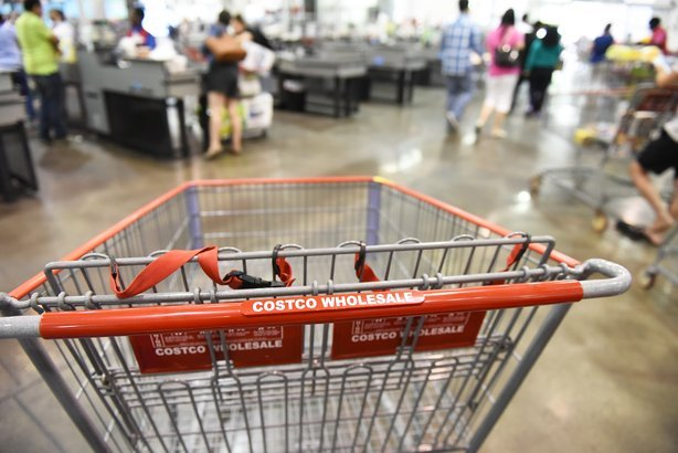kitchen carts target small dinette sets costco grocery prices vs. kroger: comparing 50 products ...