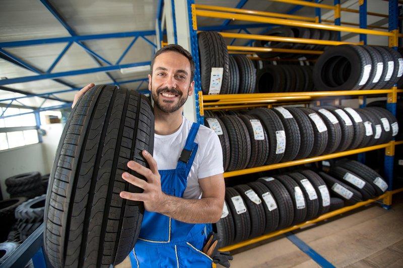 cheap tire installation walmart vs