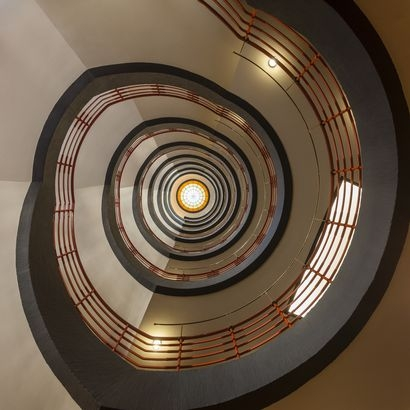 Most Famous Staircases In The World You Can Visit Cheapism Com   Spiral Staircase Los Angeles   Old Fashioned   Most Efficient   Double Spiral   Rome   Topanga Canyon
