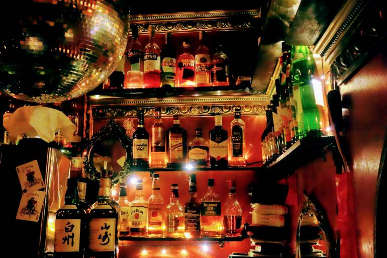 Drinks Bottles Golden Gai Albatross