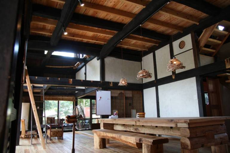 Yokomura Eco-Lodge Main Room