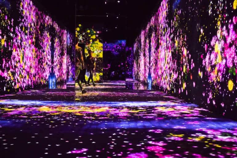 Mori Building Digital Art Museum A Multi Sensory Experience