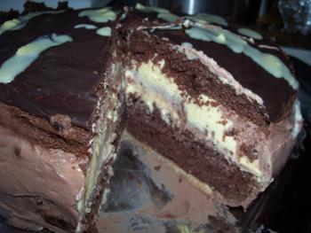 Milka Kuhfleckentorte  Torten  Kuchen Forum  Chefkochde