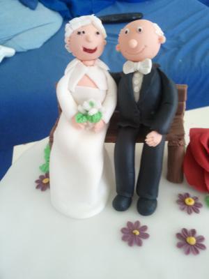 Meine Torte zur Diamantenen Hochzeit  Motivtorten Fotos