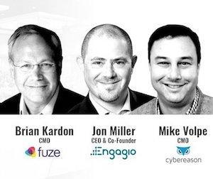MarTech Keynote: Brian Kardon, Jon Miller & Mike Volpe