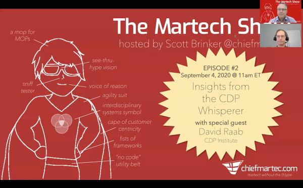 The Martech Show Episode # 2: The CDP Whisperer