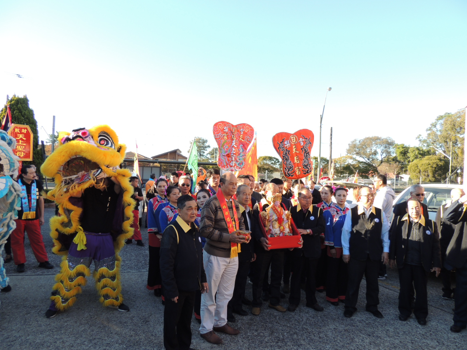 Thean Hou Temple in New Zealand celebrates the birth of Mazu and the benefactors sincerely pay homage to God's blessings | Australia Chinatown Community News