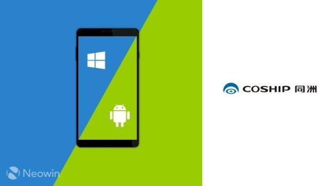 Çinli üreticiden Win/Android'li telefon