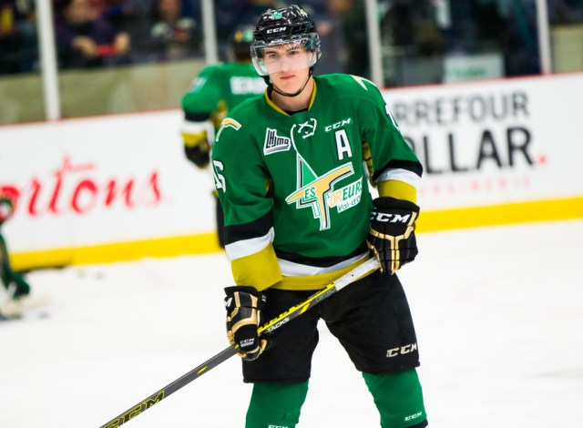 QMJHL Roundup: Aube-Kubel leads Val-d'Or Foreurs past Rimouski Oceanic 7-3  – LHJMQ