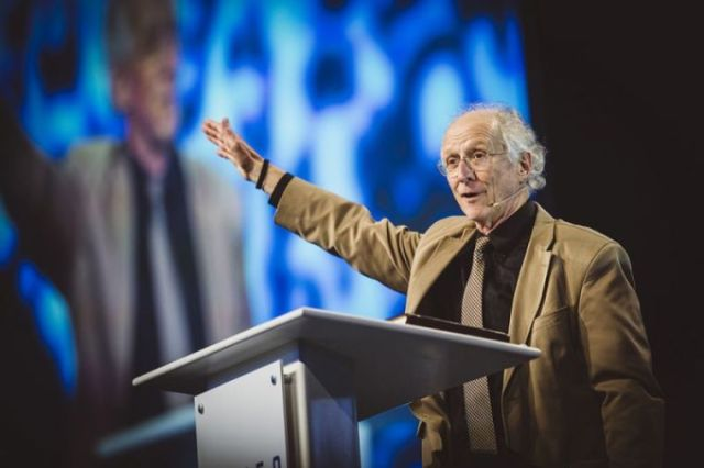 John Piper, founder of DesiringGod.org and chancellor of Bethlehem College & Seminary, speaks at the MLK50 Conference hosted by the Ethics & Religious Liberty Commission of the Southern Baptist Convention and The Gospel Coalition in Memphis, Tennessee, on April 5, 2018. | Rocket Republic /Flickr
