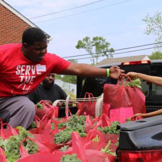 Maryland Church Gives Away Two New Cars and 100,000 Pounds of Food to People in Need