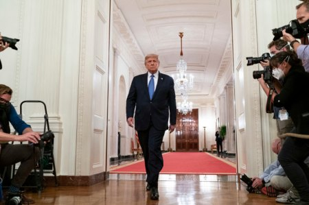 WATCH: Trump Says Coronavirus Pandemic is 'God Testing Me', Claims He Talked to God About U.S. Economy and Believes God Will Help Him Rebuild It Again