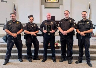 North Carolina Church Honors Local Police Force With Gift Cards and Plaques of Appreciation