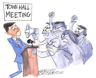 Town Hall Rabble Rousers Repel Marco Rubio The Christian Post