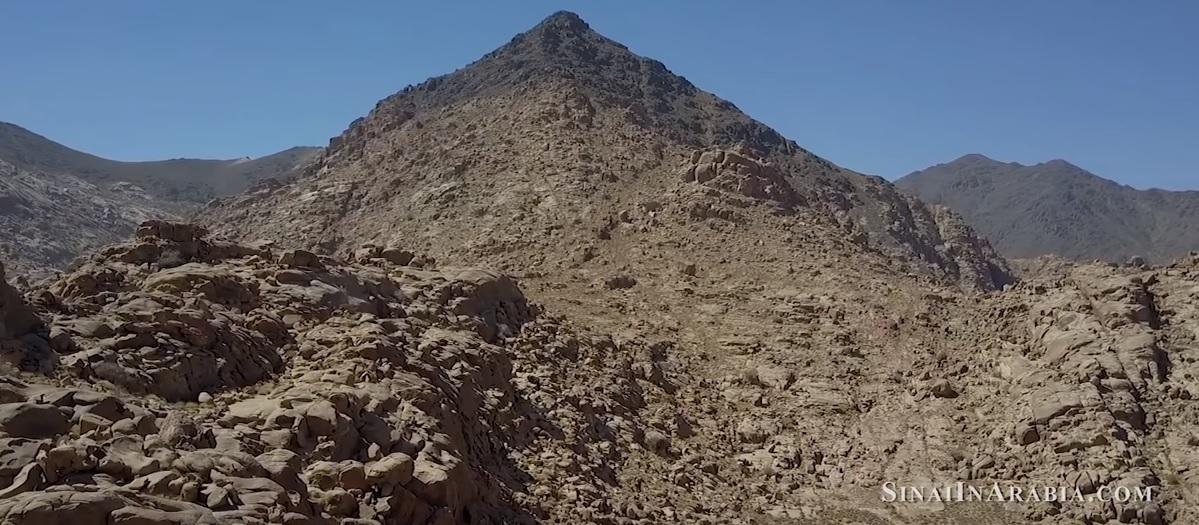 Viral online film argues Exodus went into Saudi Arabia Mt