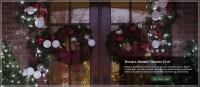 Double Door Christmas Decorations