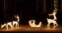 Outdoor Deer Christmas Decorations