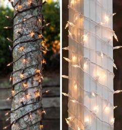 christmas light wraps for tree trunks and columns [ 1110 x 1440 Pixel ]