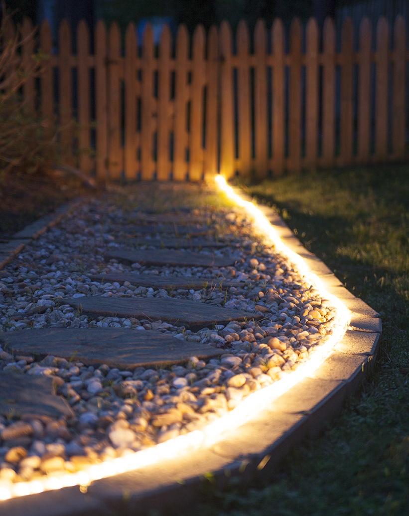 diy outdoor lighting the secret life of rope light