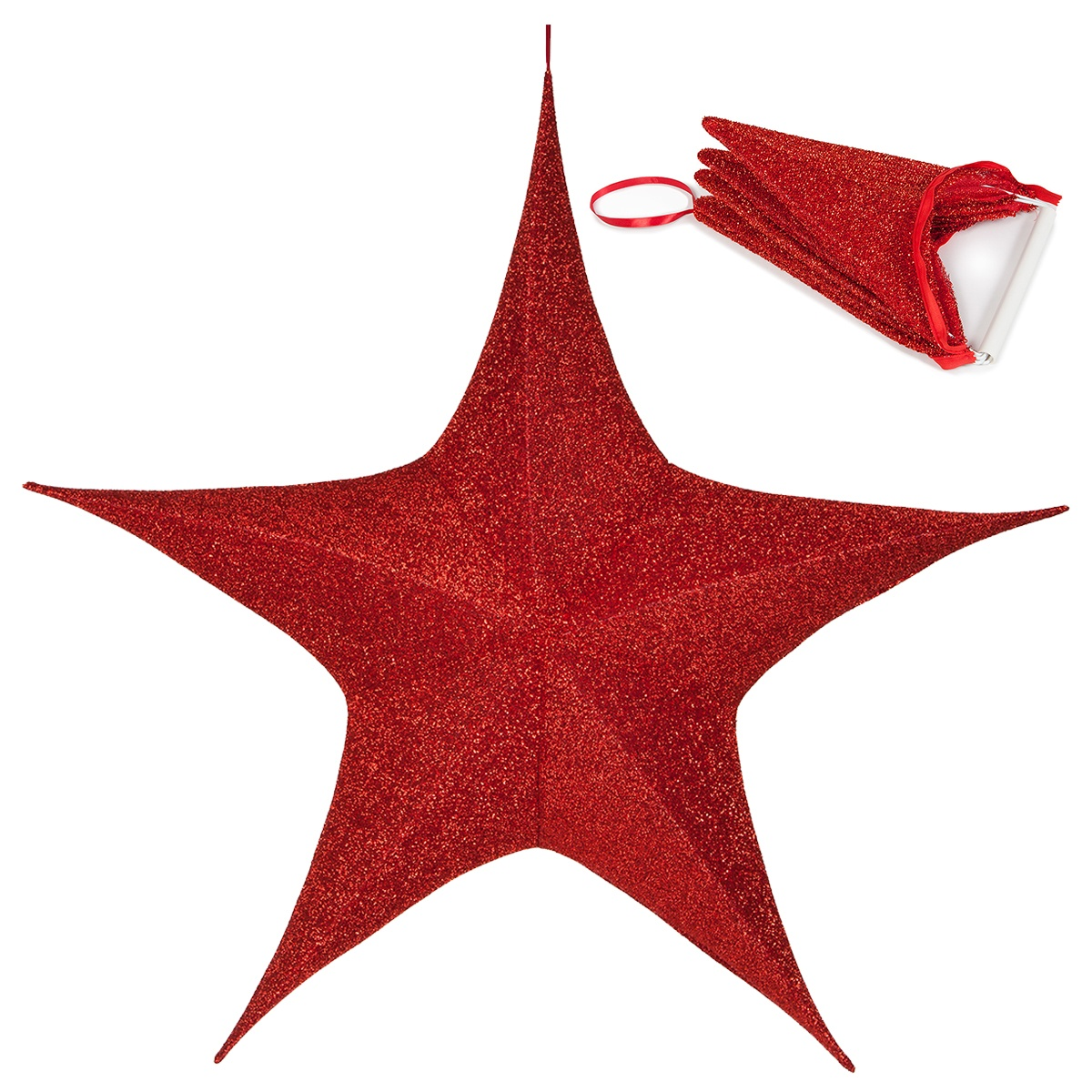 hight resolution of unlit christmas star decorations