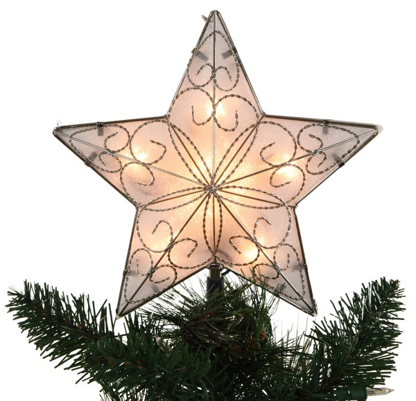 Christmas Decorations 85quot Lighted Star Tree Topper