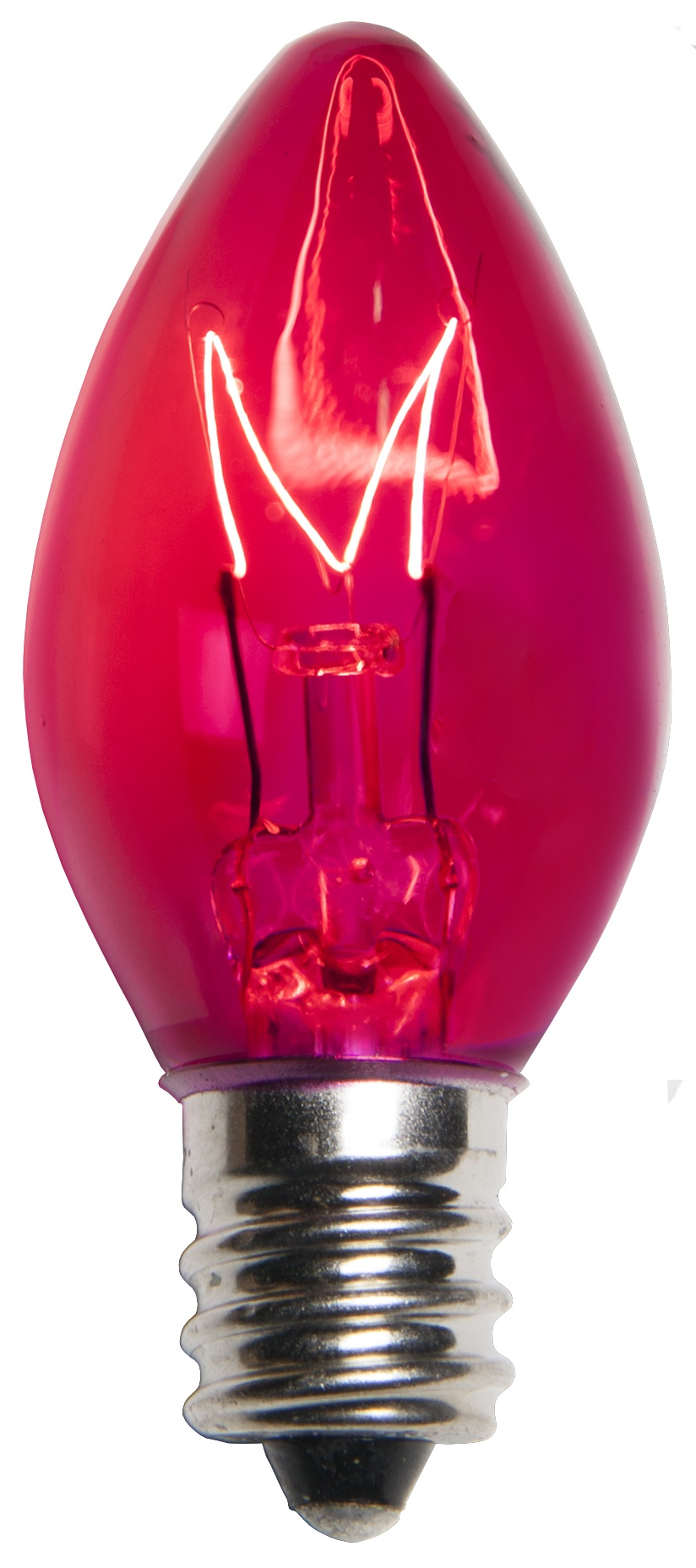 C7 Christmas Light Bulb  C7 Pink Christmas Light Bulbs