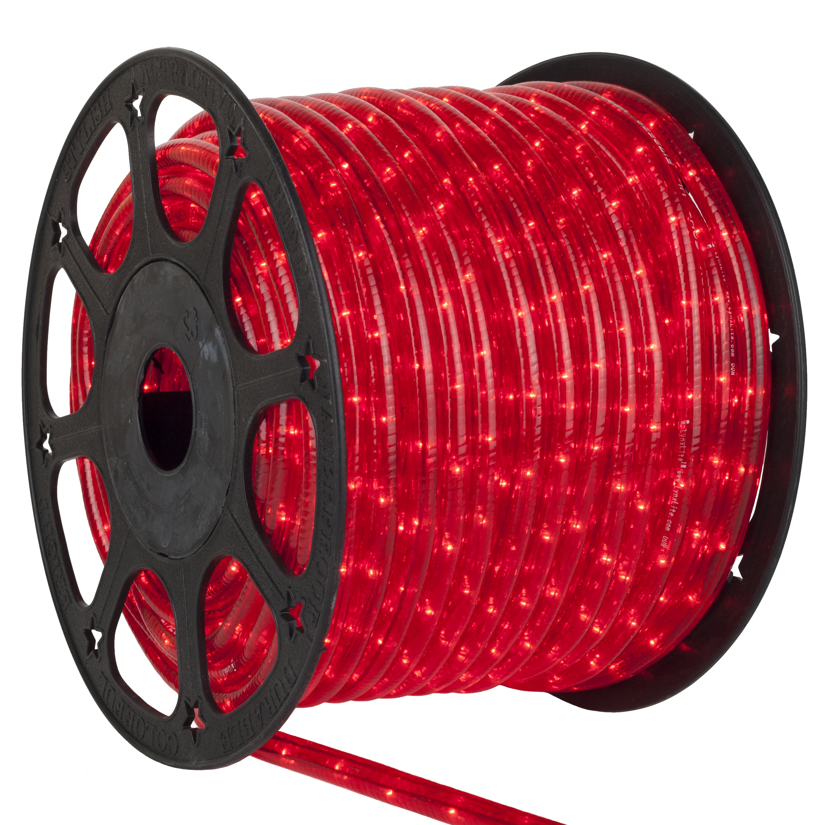 Rope Light  150 Red Mini Rope Light Commercial Spool