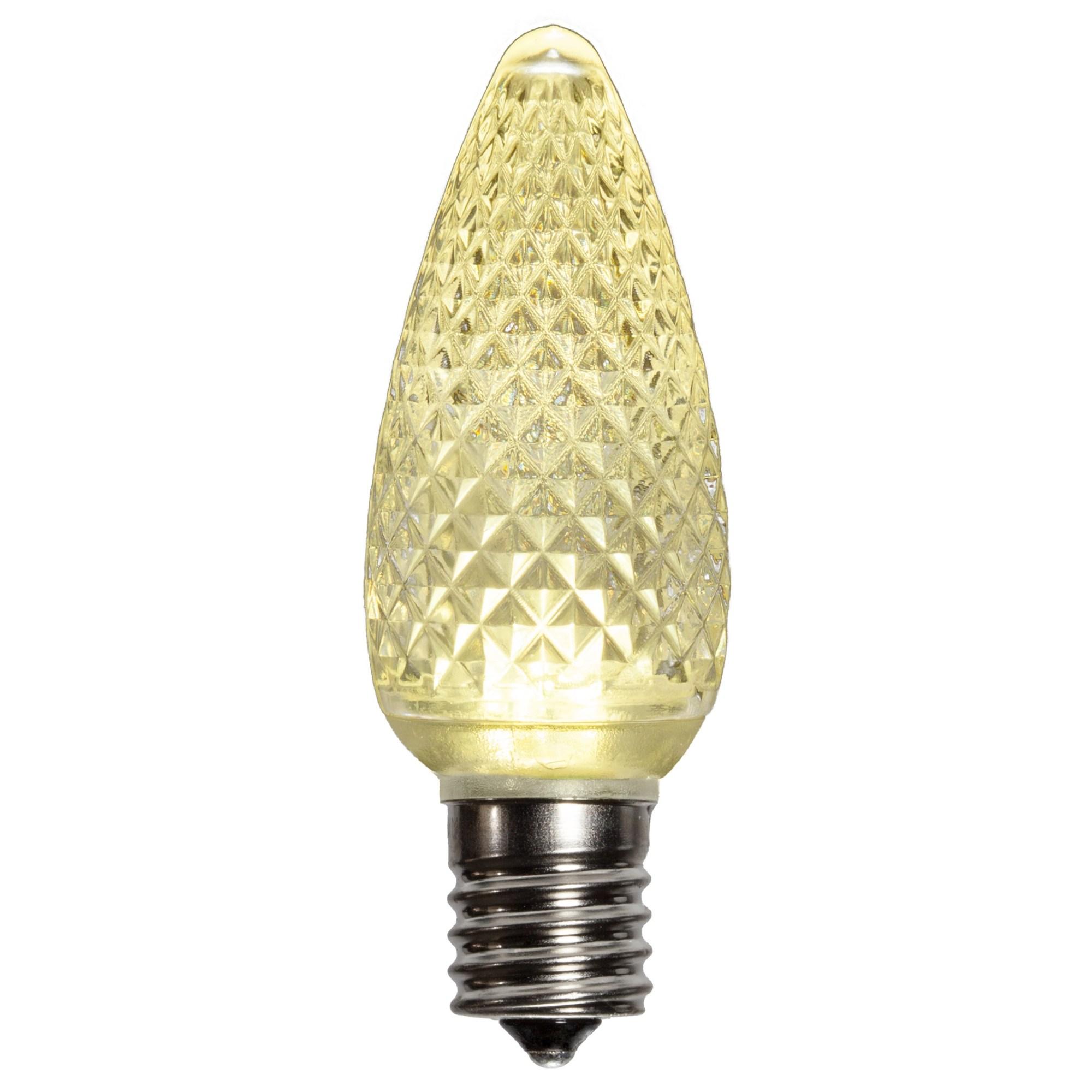 hight resolution of c9 warm white led light bulb