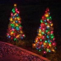 Outdoor Decorations - 3' Walkway Pre-Lit Winchester Fir ...