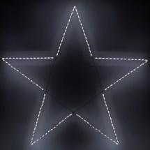 Snowflakes & Stars - 8.5' Giant Led Folding 5-point Star