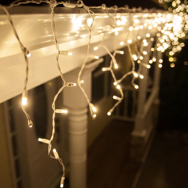 LED Christmas Lights  70 5mm Warm White Twinkle LED