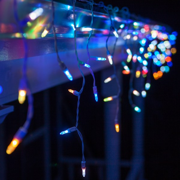 LED Christmas Lights 50 M5 Multicolor Color Change LED