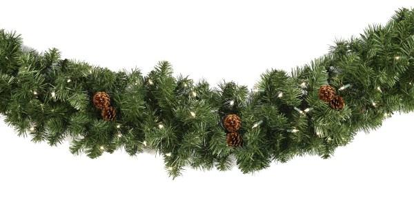 Lighted Christmas Garland - Winchester Fir Prelit Multicolor Lights