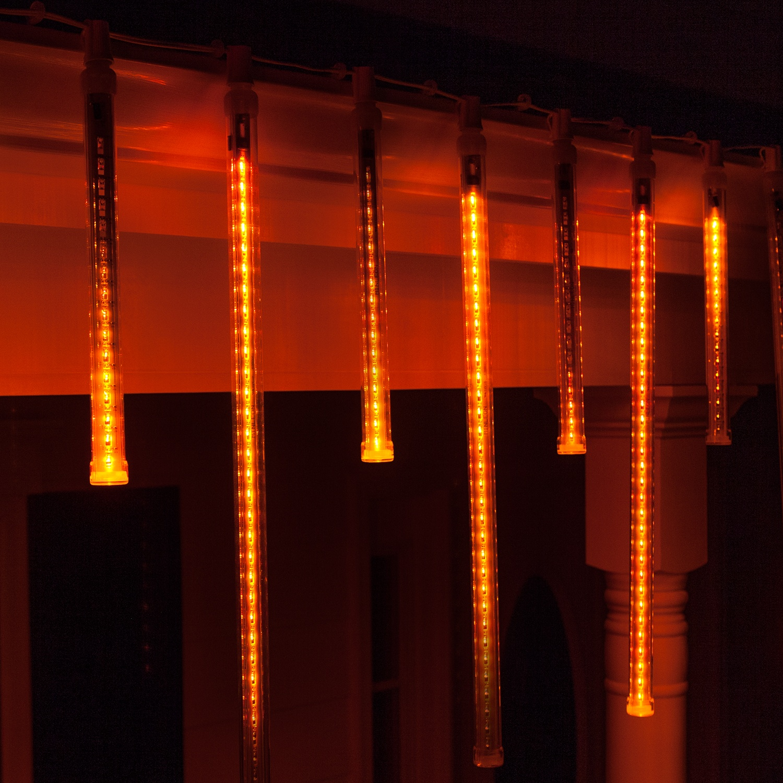 T8 Amber Grand Cascade LED Light Tubes E17 Base