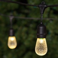 Patio Lights - Commercial Warm White LED Patio String ...