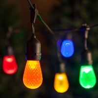 Patio Lights - Commercial Multicolor LED Party Lights, 24 ...
