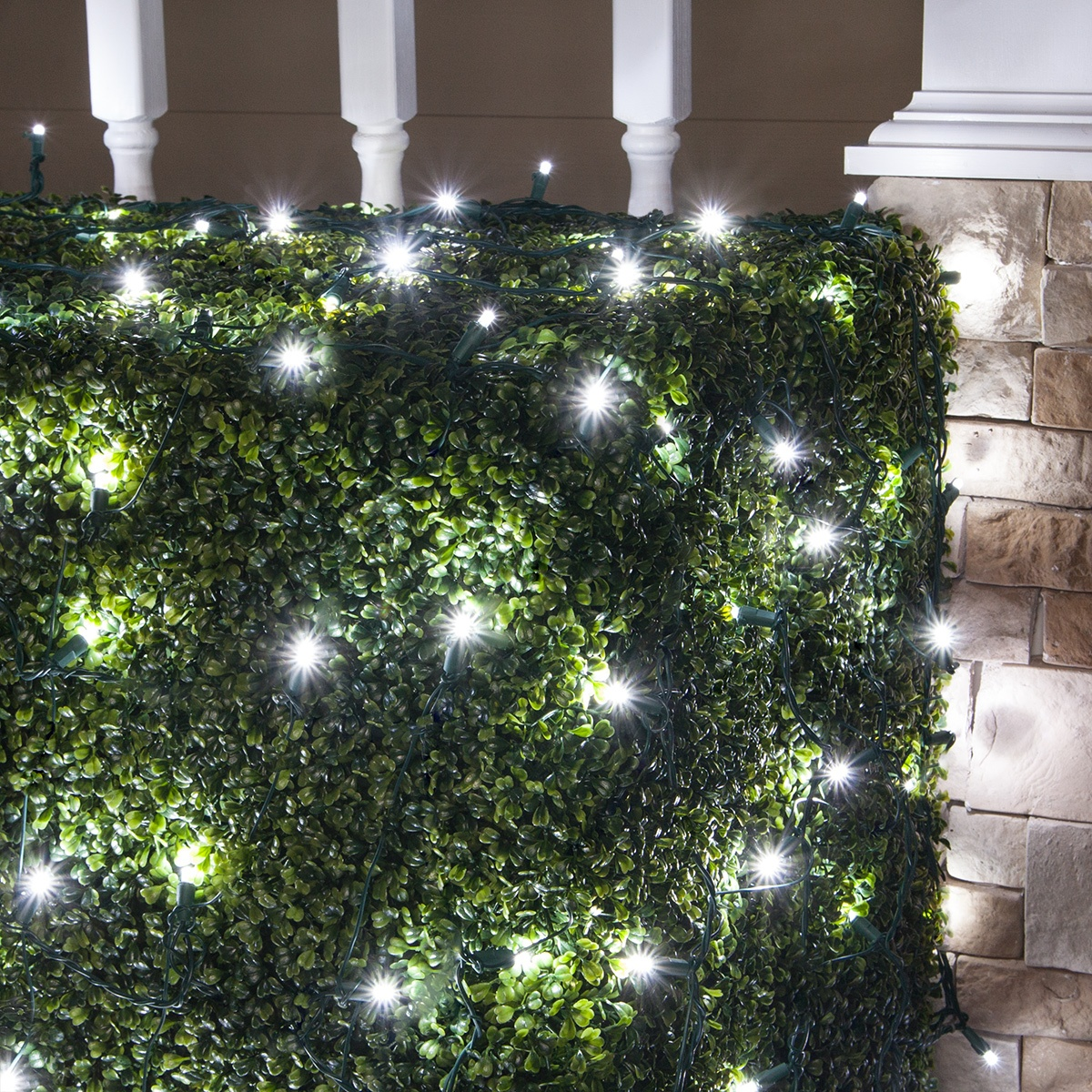 hight resolution of cool white led twinkle net lights