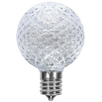 G50 Cool White OptiCore LED Globe Light Bulbs