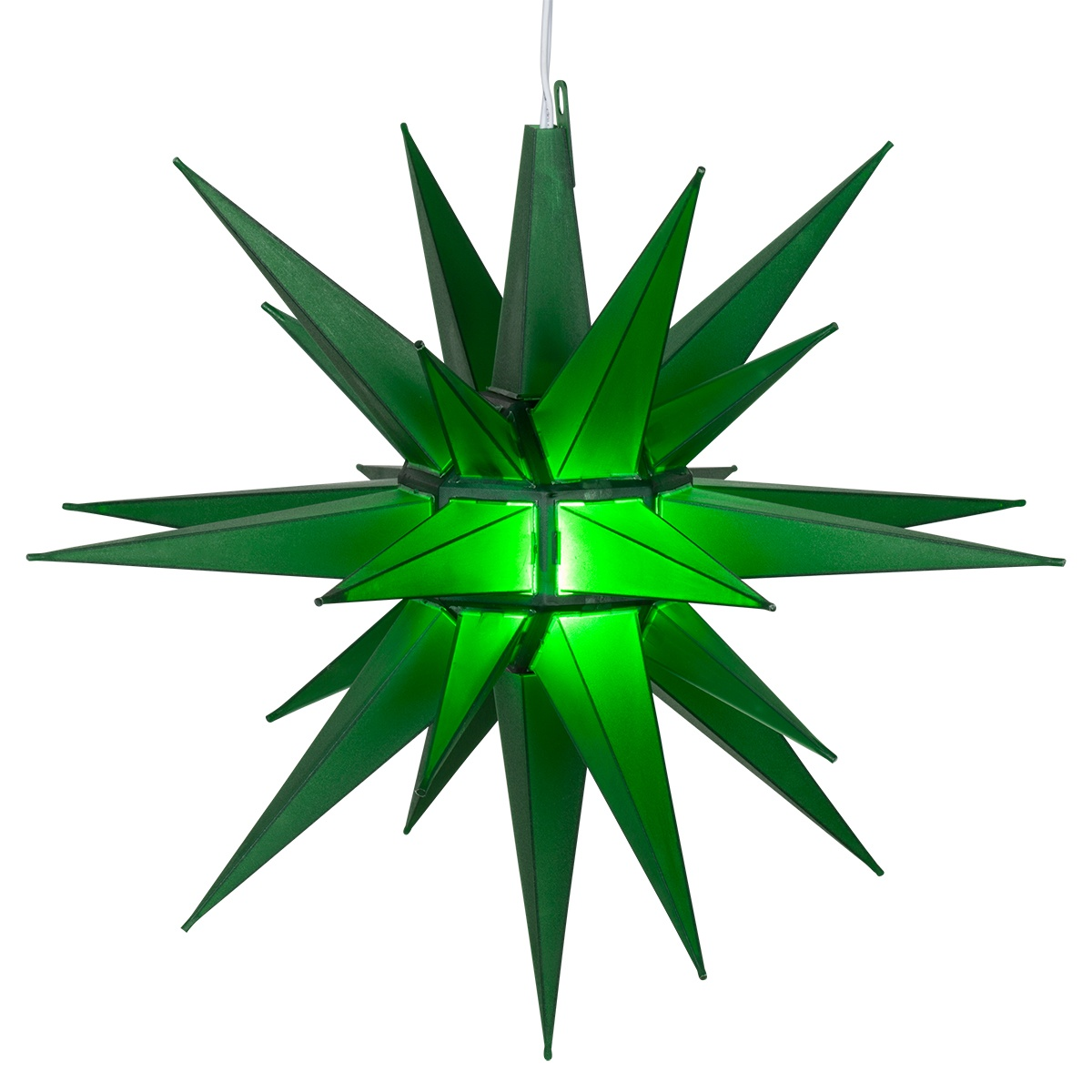 Moravian Stars 14 Quot Green Led Moravian Star