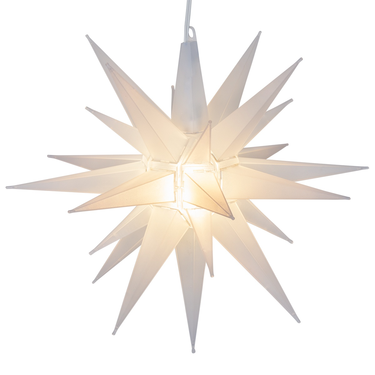 Moravian Stars  14 Clear Frosted LED Moravian Star