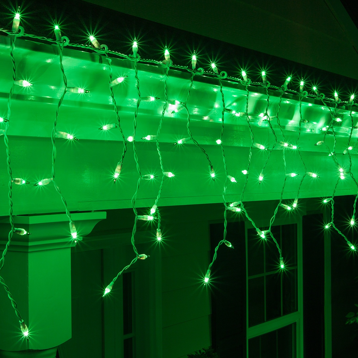 miniature christmas lights wiring diagram outlet symbol icicle light 150 green white wire